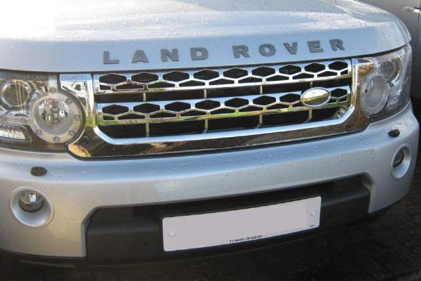 Discovery 4 Original Style Front Grille - Chrome